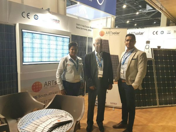 ARTsolar at The Solar Show 2017