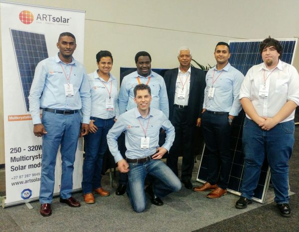 ARTsolar at the African Energy Indaba 2017 Expo