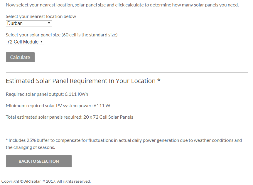 Solar Panel Estimator Launch