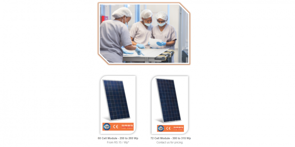 60 Cell Solar Panels In Stock – Priced To Go