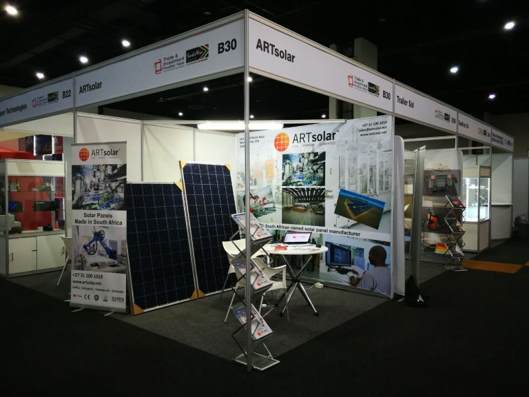 ARTsolar at The Africa Energy Indaba 2018