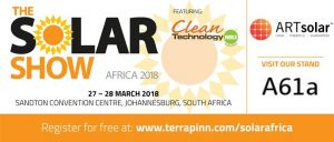 Join us at The Solar Show Africa 2018