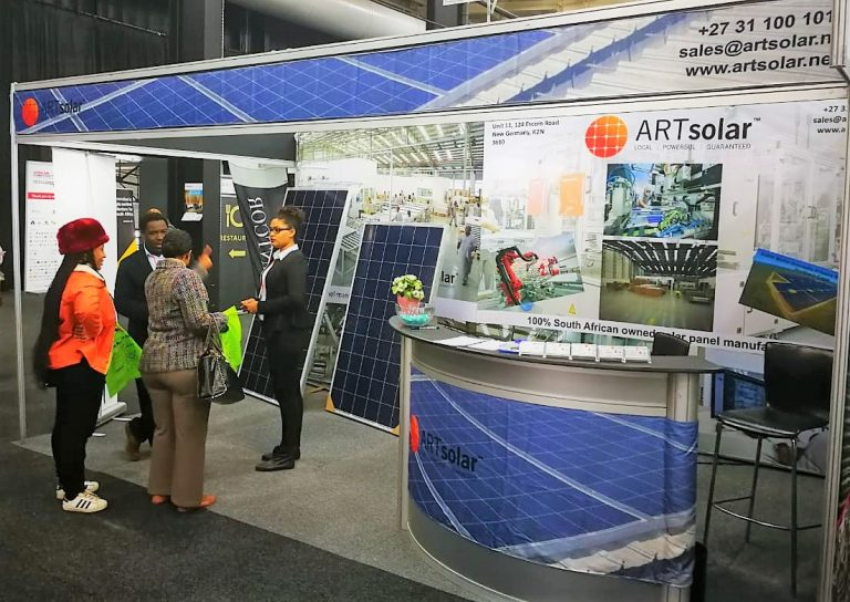 ARTsolar at the Totally Concrete Expo 2018