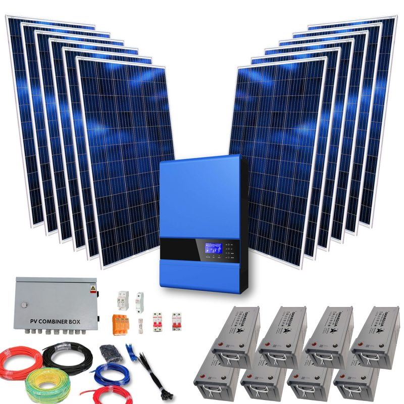 Off-Grid Solar Kit – 5kVA Esezingeni Power