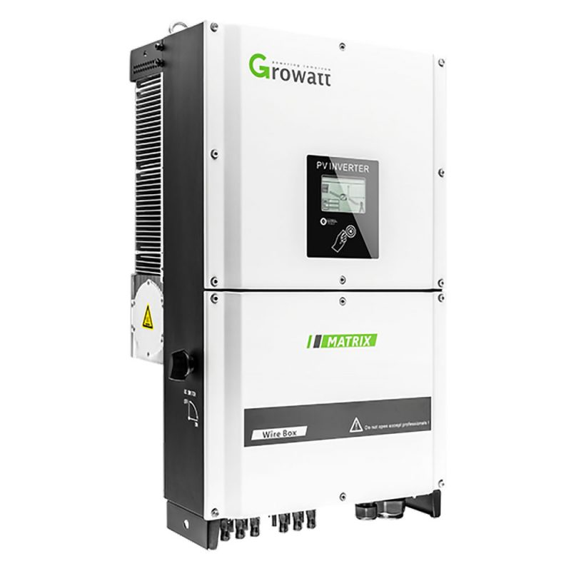 Growatt – 25000TL3-S Grid-Tied Inverter – 25KW