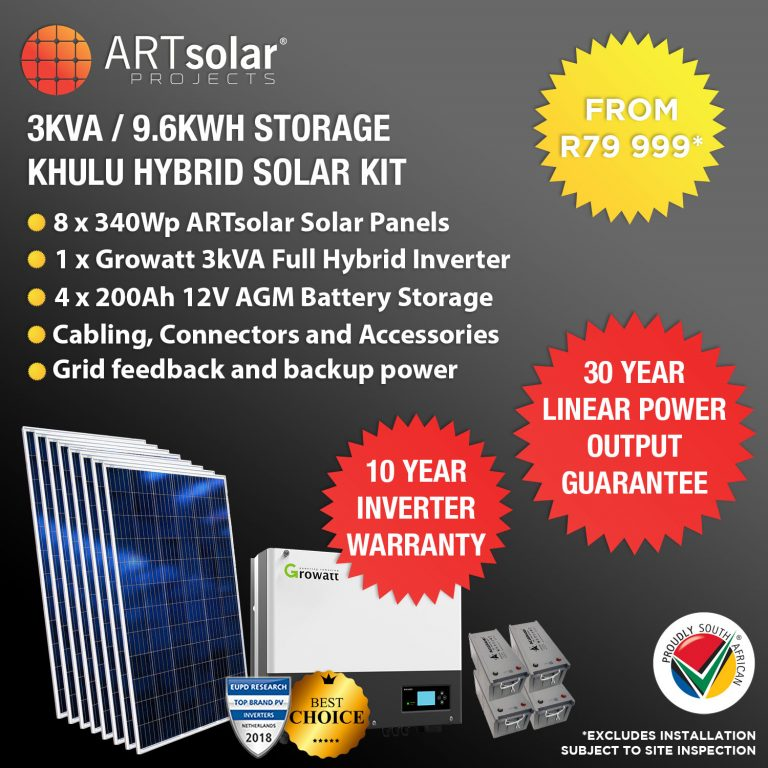 3Kw Growatt Kit Listing 2