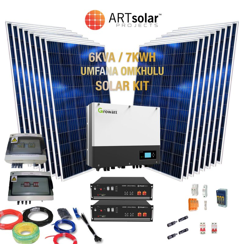 Full Hybrid Solar Kit – 6kVA Umfana Omkhulu Power